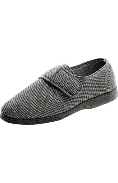 Silvert's Men's Textured Slipper, , large