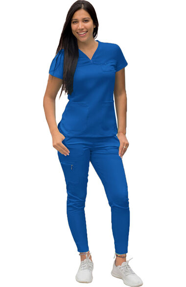 Women's Movement Booster Jogger Solid Scrub Set, , large