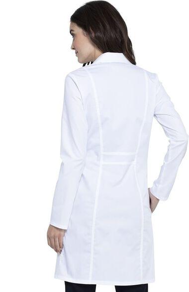 """Women's 36"""" Notch Lapel Lab Coat, , large"""