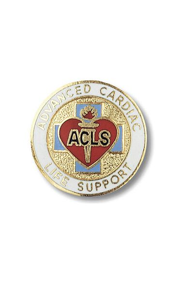 Cardiac Life Support, Advance (ACLS) Pin, , large