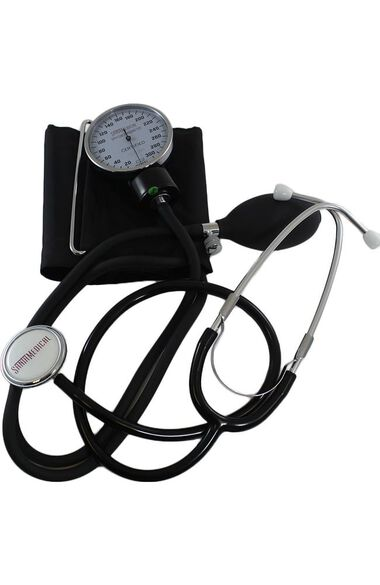 SantaMedical Aneroid Momanometer with Stethoscope, , large