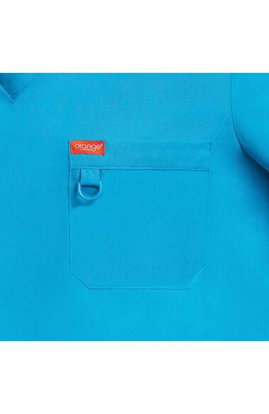 Unisex Balboa V-Neck Solid Scrub Top, , large