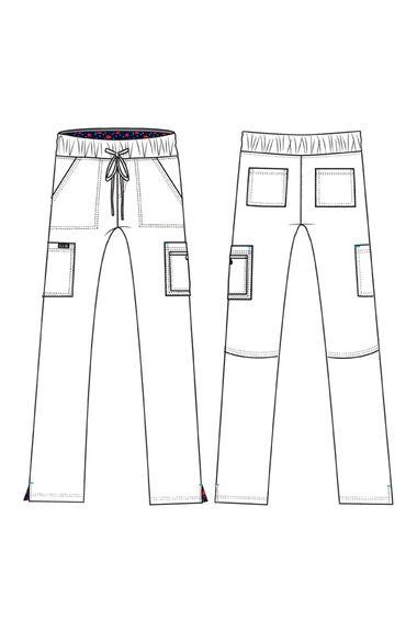 Women's Holly Low Rise Straight Leg Scrub Pant, , large