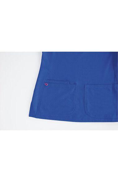 Women's V-Neck Scrub Top & Low Rise Scrub Pant Set, , large