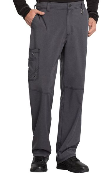 Clearance Men's Zip Fly Cargo Scrub Pant, , large