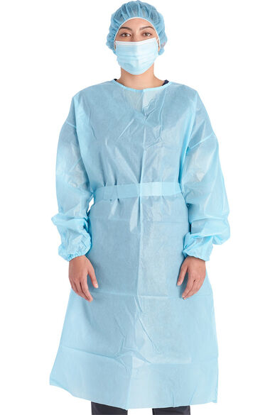 Unisex Isolation Gown By the Box, , large