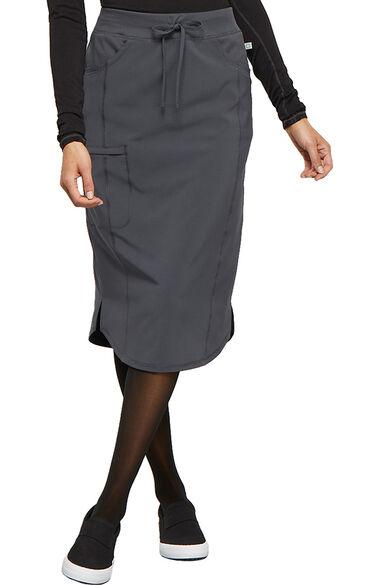 """Women's 30"""" Drawstring Scrub Skirt, , large"""