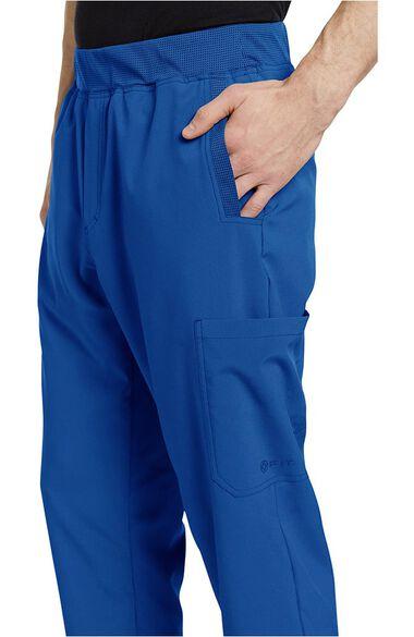 Men's Mesh Waistband Stretch Scrub Pant, , large