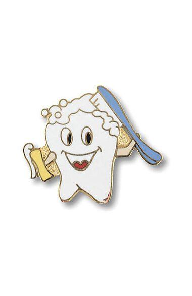 Cute Tooth Brushing Itself Tac Pin, , large