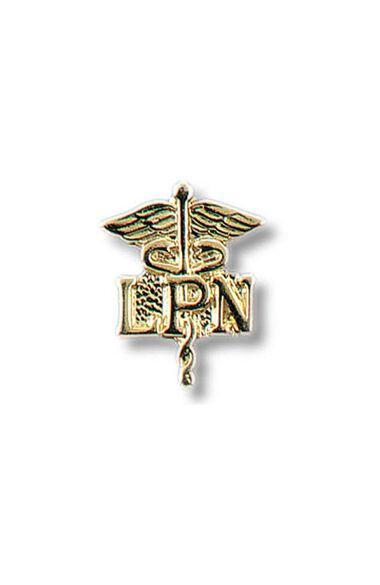 LPN - Licensed Practical Nurse On Caduceus Tac Pin, , large