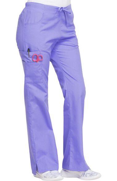 Women's Mid Rise Drawstring Cargo Pant, , large