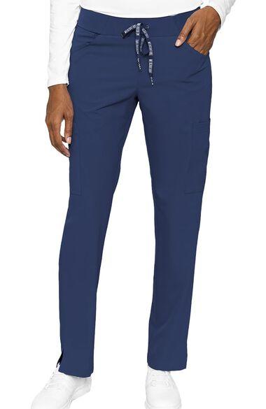 Women's Scoop Cargo Pocket Scrub Pant, , large