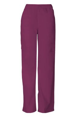 Men's Zip Fly Pull On Scrub Pant