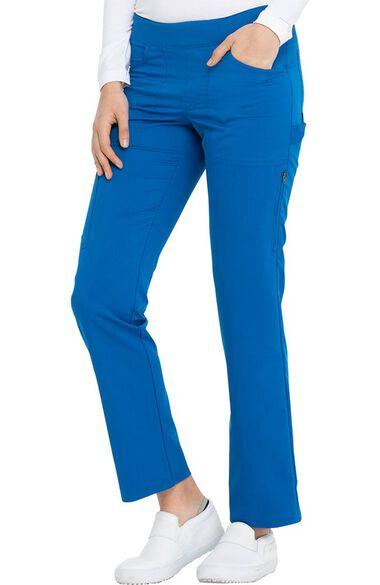 Women's Straight Leg Pull-On Scrub Pant, , large
