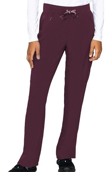 Women's Zipper Pocket Cargo Scrub Pant, , large