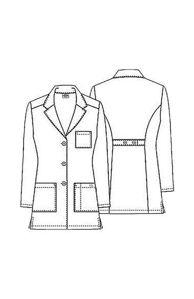 "Women's 3 Pocket 32"" Lab Coat, , large"