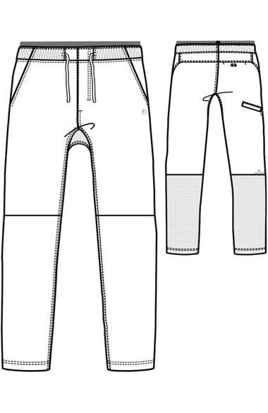 Men's Welt Cargo Scrub Pant, , large