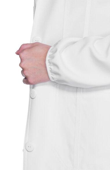 """Women's Notched Lapel 34"""" Lab Coat, , large"""