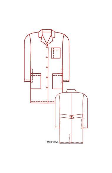 "Unisex 39"" Lab Coat, , large"