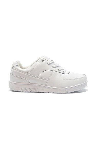 Women's White Athletic Work Shoe, , large