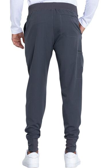 Men's V-Neck Solid Scrub Top & Jogger Scrub Pant Set, , large