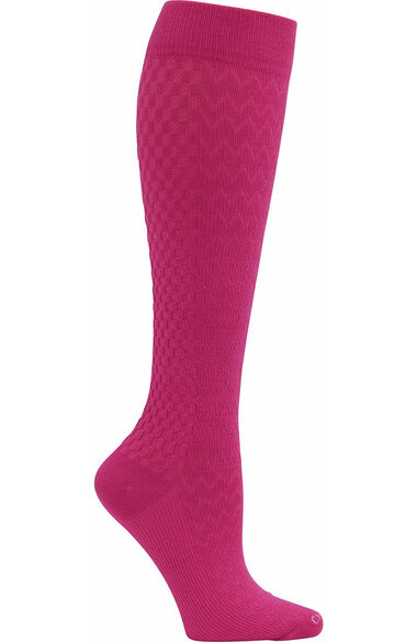 Women's True Support Wide 10-15 Mmhg Compression Sock, , large