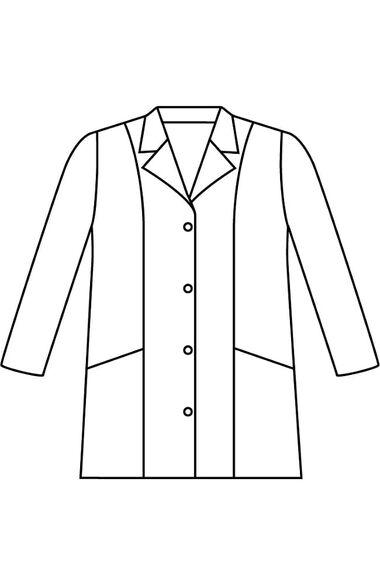 """Clearance Women's 2-Pocket Poplin 31½"""" Lab Coat, , large"""