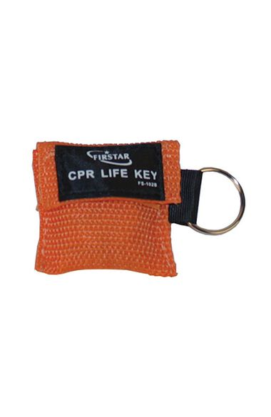 FINAL SALE Compact First Aid CPR Mask Keychain, , large