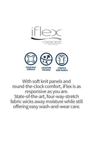 Women's Knit Waistband Scrub Pant, , large