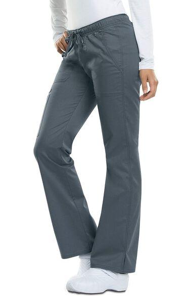 Women's Low Rise Straight Leg Scrub Pant, , large