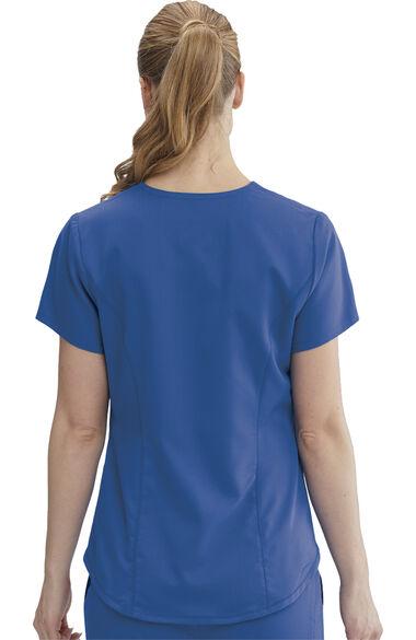 Grey's Anatomy Classic Women's Avana Solid Scrub Top, , large