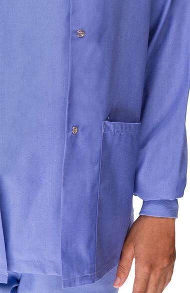 Women's Solid Scrub Jacket, , large