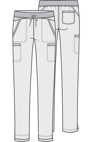 Clearance Women's Straight Leg Scrub Pant, , large