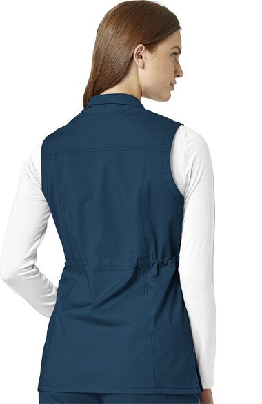 Clearance WonderFLEX by Women's Serenity Solid Scrub Vest, , large