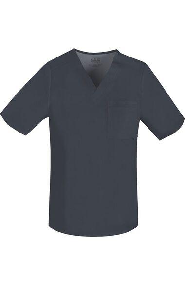 Men's V-Neck Scrub Top, , large