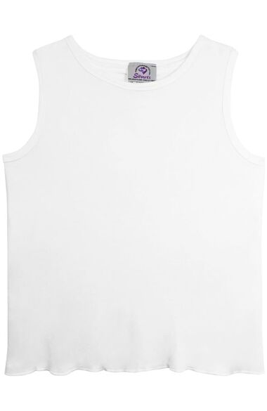 Silvert's Women's Open Back Solid Undershirt 3 Pack, , large