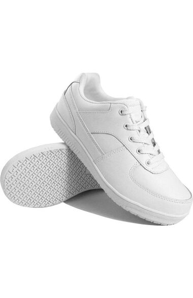 Men's White Athletic Work Shoe, , large