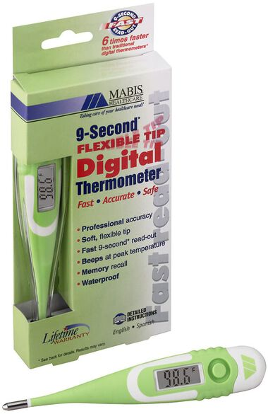Clearance Flex Tip Digital Thermometer, , large