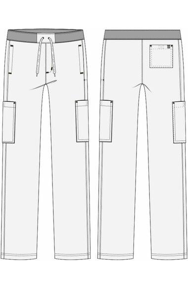 Men's Hutton Straight Leg Scrub Pant, , large