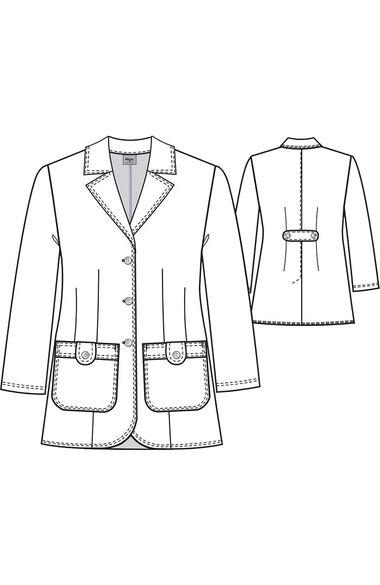 "Grey's Anatomy Classic Women's 32"" Lab Coat, , large"