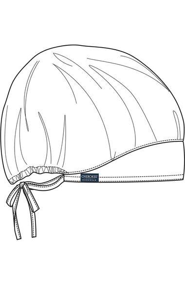 Unisex Bouffant Solid Scrub Hat, , large