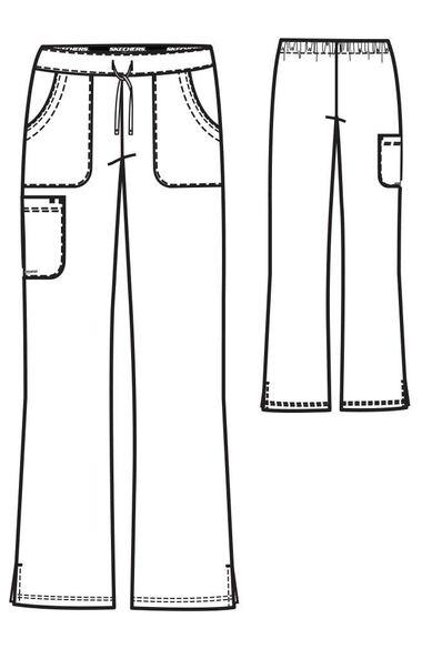 Women's Reliance Drawstring Cargo Scrub Pant, , large