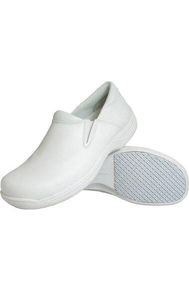Clearance Men's White Slip On Clog, , large