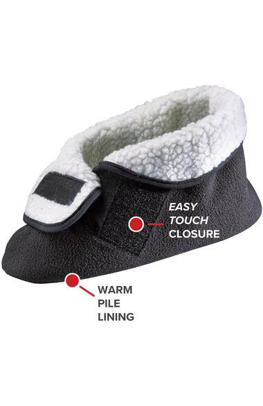 Silvert's Unisex Soft Fleece Bootie Slipper, , large