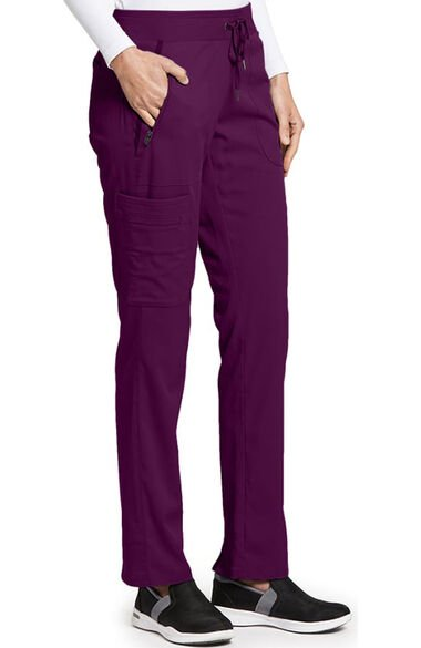 iMPACT by Grey's Anatomy Women's Drawstring Cargo Scrub Pant, , large