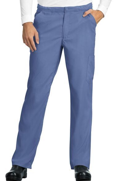 Men's Discovery Zip Fly Slim Fit Scrub Pant, , large
