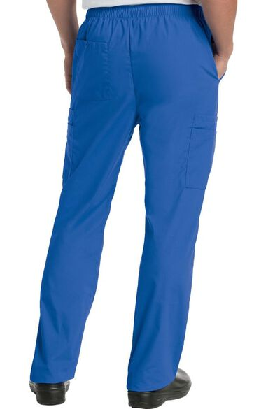 Men's Cargo Pocket with Zipper Fly Scrub Pants, , large