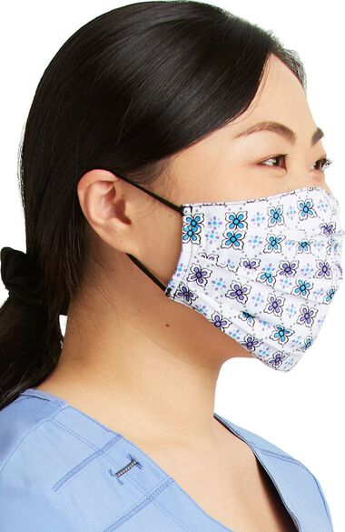 Clearance Women's Reversible Let It Sno & Petite Geo Print Face Mask, , large