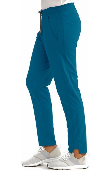 Spandex Stretch by Grey's Anatomy Women's Track Cargo Scrub Pant, , large