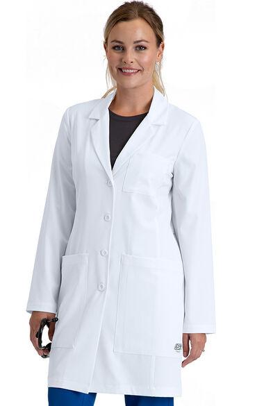 """Women's 34"""" Allure Lab Coat, , large"""